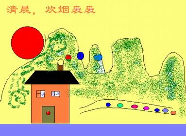 我的家鄉東營三年級學生繪畫展示